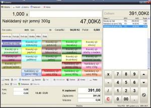 Pokladní software EET